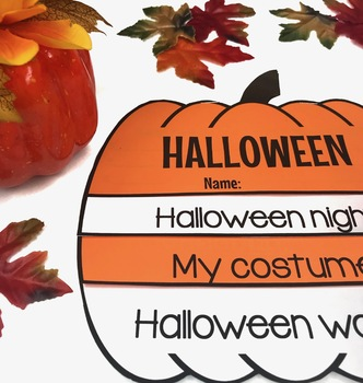 Halloween Flip Book - Fun Activity