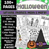 Halloween Activities Kindergarten Worksheets