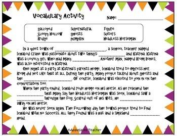 Halloween Activities - Across the Curriculum - Common Core Aligned