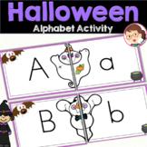 Halloween Activities - Alphabet Task - Preschool, Pre-K (PreK), Literacy Centers