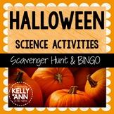 Halloween Science Activities BUNDLE {Life Science Scavenger Hunt & BINGO}