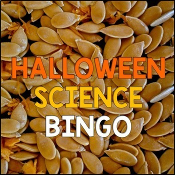 Halloween Science Activities BUNDLE {Life Science Scavenger Hunt & BINGO}