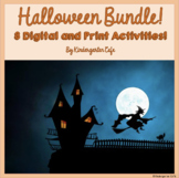 Halloween Activities BUNDLE! *NEW DIGITAL ACTIVITIES INCLUDED!