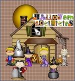 Halloween Activities - Bingo, Memory, Don't Eat Pete