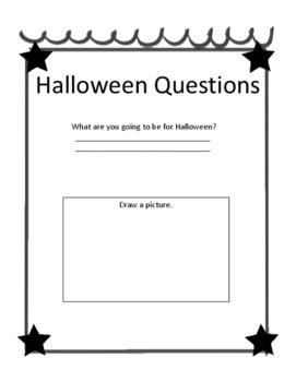 Halloween Activities Book