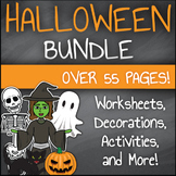 Halloween Activities Bundle