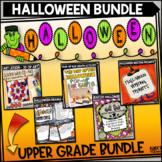 Halloween Activities Bundle for Upper Grades