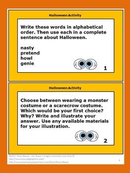 Halloween Activities Classroom Fun