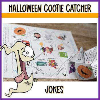 Halloween Activities Cootie Catchers