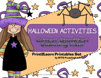 Halloween Activities – Cutest Spookiest Counting Ever