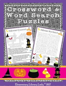 Halloween Activities Decor Handouts Bookmarks BUNDLE