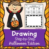 Halloween Activities: Directed Drawings with Writing Option (First Grade)