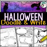 Halloween Activities - Doodle and Write