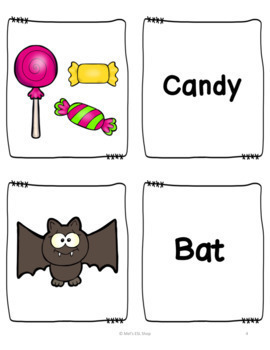 ESL Halloween- ESL Flashcards, Worksheets & Activities