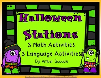 Halloween Activities {FREEBIE}