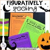 Halloween Activities: Figurative Language Practice ***50%