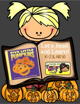 "Halloween Activities: ""Five Little Pumpkins"" Unit"
