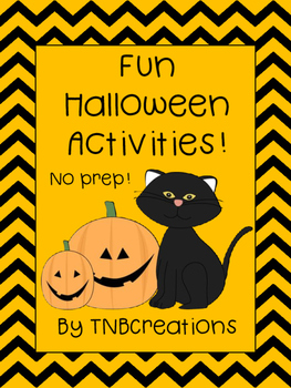 Halloween Language Arts Writing Activities