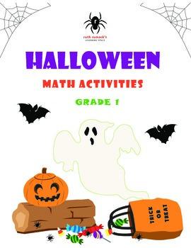 Halloween Math Activities - 1st Grade