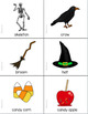Halloween Grammar and Vocabulary for Speech Therapy