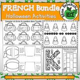 Halloween Activities HUGE BUNDLE EN FRANCAIS