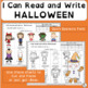 Emergent Readers: Halloween Vocabulary