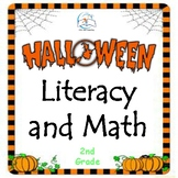 Halloween Literacy and Math Activities - 2nd Grade