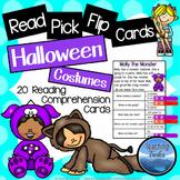 Halloween Activities: Halloween Reading Comprehension Pass