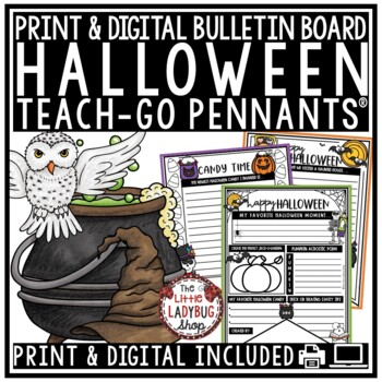 Halloween Writing Activity Posters
