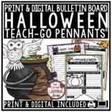 Halloween Writing Activity & October Writing Prompts- Teach- Go Pennants™