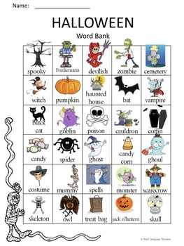 Halloween Activities--Literacy, Math and Games!