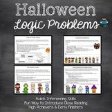 Halloween Activities: Logic Problems