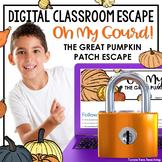 Halloween Activities Digital Math Escape Room DISTANCE LEARNING
