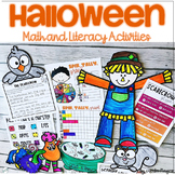 Halloween Activities Math and Literacy