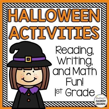 halloween math literacy activities fun printables for 1st grade. Black Bedroom Furniture Sets. Home Design Ideas