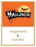 Halloween Activities (Middle / Junior High School)