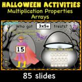 Halloween Activities- Multiplication arrays, facts, proper