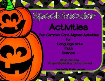 Halloween Activities Pack by Kinder League