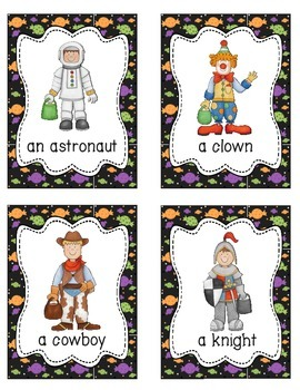 Halloween Activities Package and 53 Vocabulary Word Wall Cards