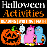 Halloween Activities {Halloween Writing, Reading, S&L, Math}