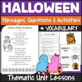 Halloween Reading Activities | Halloween Reading Comprehension