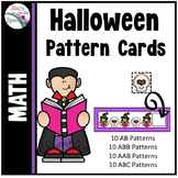 Halloween Activities Pattern Cards
