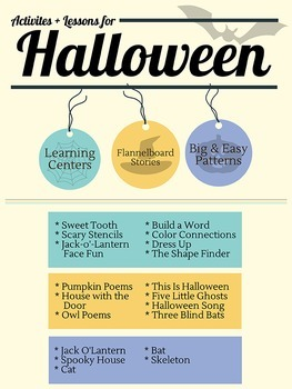 Halloween Activities, Patterns, and Stories for Grades PK-2