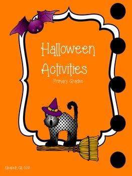 Halloween Activities Primary