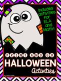 Halloween Activities (Print and Go)