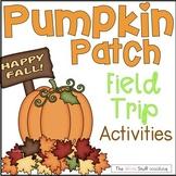 Halloween Activities Pumpkin Patch