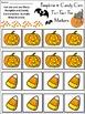Halloween Activities: Pumpkins & Candy Corn Halloween Tic-Tac-Toe Game Bundle