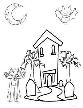 Halloween Activities (Puzzles, Counting, Spelling, Drawing, and More!)
