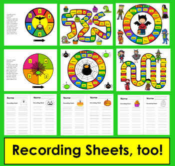 Halloween Activities Sight Word Games - PrePrimer - First 40 Dolch