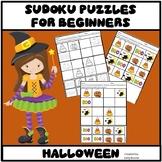 Halloween Activities - Sudoku Puzzles for Beginners